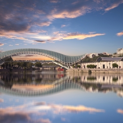 BP3-TBSZH-Shutterstock-The-Bridge-of-Peace-in-Tbilisi-is-a-magnificent-spot-to-see-the-city