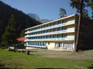 Hotel facade Racha
