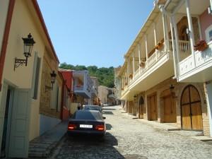 A street in Sighnaghi, Georgia
